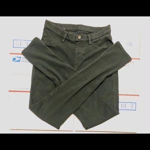 COPY - Uniqlo Small 26-27 Green Jeans Skinny Legg…